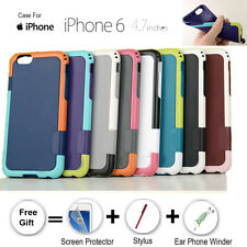Anti-Skid Shock Proof Heavy Duty Tough Hybrid Rubber case cover for iPhone 6 4.7