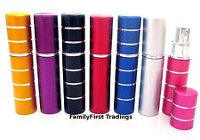 Perfume Aftershave Atomizer Atomiser Bottle 5ml Pump Travel Refillable Spray