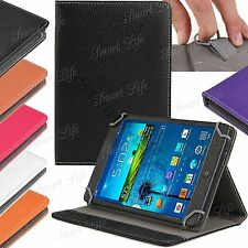 "Universal Leather Folding Stand Case Cover For 10"" 10.1 Inch Android PC Tablet"