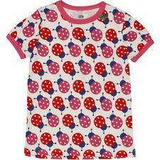 Fred's World by Green Cotton T-shirt Ladybug organic cotton GOTS NEW