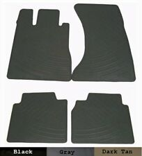 All Weather Rubber Floor Mats {fits 1994-2006 Mercedes S} - Four Piece Set