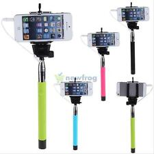 Selfie Pole Extendable SELF-timer Rod Telescopic Grip For All IOS Android Phone