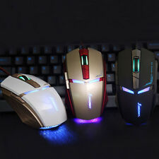 1PC Adjustable 1800 DPI Optical USB Wired Gaming Mouse Mice For PC Laptop Cheap