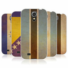 HEAD CASE VINTAGE FLAGS SET 2 GEL BACK CASE COVER FOR SAMSUNG GALAXY S4 I9500