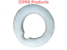 Dome Top Filter White Batting Vacuum Cleaner Exhaust Wrap Poly For Filter Queen