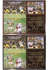 Ben Roethlisberger #7 Record 2 500 Yard Games Pittsburgh Steelers Photo Plaque
