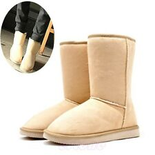 6 Colors Fashion Women Girls Lady Shoes Winter Mid Calf Warm Snow Nond-slip Boot