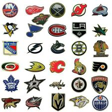 NHL Hockey Official Team Logo Sports Lapel Pin Licensed Choose Your Favorite