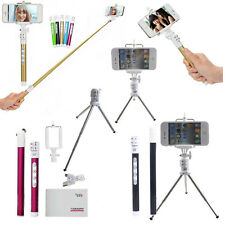 Extendable Bluetooth Selfie Stick Monopod Tripod with Shutter For iPhone Android