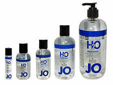System JO H2O Water Based Lubricant - Choose Size