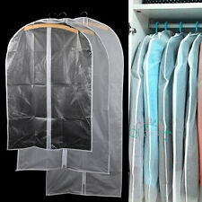 Garment Cover Storage Bag Dustproof Breathable Coat Clothes Cover overcoat 3Size