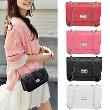 Fashion Women Faux Leather Messenger Satchel Crossbody Shoulder Bag Handbags