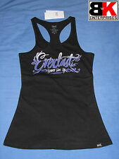 "Everlast Tank / Singlet Womens Black ""Never Give Up"" BNWT"