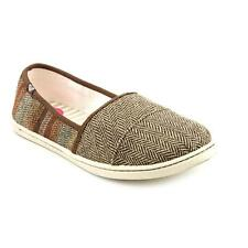 Roxy Matey Womens Textile Flats Shoes Used