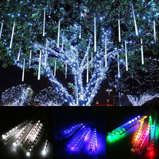 New LED Meteor Shower Rain Tube Snowfall String Light Christmas Tree Party Decor