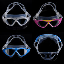 Children Waterproof Anti-Fog UV Protect Swimming Goggles Adjustable Strip