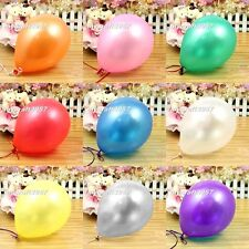 New 50PCS/100PCS Colorful Helium Balloons Party Wedding Birthday Latex Balloons