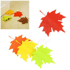 Maple Autumn Leaf Style Home Decor Finger Safety Door Stop Stopper Doorstop New