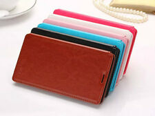 Ultra-thin Simple sytle Book Stand Flip PU Leather Cover Case For Lenovo phone
