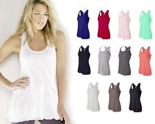 Bella Ladies Flowy Racerback Tank Top XS - 2XL Sizes 8800 Bella Ladies Tank Top
