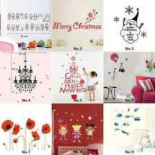 New Home Decor Wall Sticker Art Removable Mural Decal Animal House Cartoon Tree