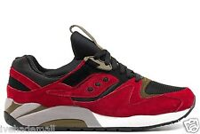 Saucony Grid 9000 Premium Autumn Spice Pack Red Black S70134-9