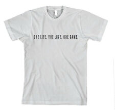 BASKETBALL ONE LIFE ONE LOVE ONE GAME SPORT Unisex Adult T-Shirt Tee Top