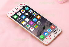 Cute Hello Kitty iPhone 6 Screen Protector 4.7 PINK plus RED by X-Doria