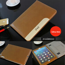 Ultra Thin Luxury Leather Smart Stand Case Cover for Apple ipad 5/6/Air/Air 2