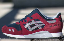 Asics Gel Lyte 3 III Burgundy Soft Grey H440N 2513 IN STOCK NOW