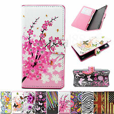 Magnetic Leather Flip Card Wallet Phone Case Accessories Cover For Huawei Ascend