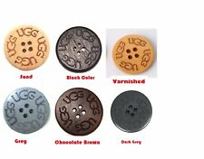 4 x UGG buttons. Replacement,Slight Seconds,  crafting, sewing, Boots