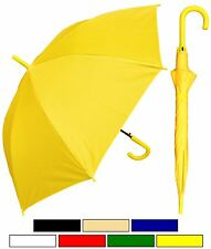 """Lot of 12 New RainStoppers 48"""" Doorman, Matching Hook Umbrella-Free Shipping"""