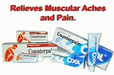 Counterpain Analgesic Balm relieves Muscular Aches and Pain 30g 60g 120g