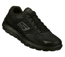 Skechers GOwalk 2-FLASH LT Men's Walking Shoes BLACK 53973BBK