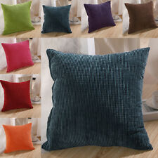 A Color Corn kernels Corduroy Sofa Decor throw Pillow Case Cushion Cover Square