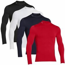 Under Armour Evo Mock ColdGear Compression LongSleeve Thermal Baselayer-2014