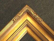 """5"""" Picture Frame Wide huge Gold Leaf Ornate photo family Oil Painting Wood 607G"""