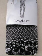 BEBE Stockings tights thigh high LOOK lace 199761 MEDIUM