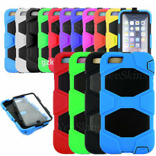 Heavy Duty Shock Proof Case For Apple iPhone 6 Plus Work Tough Tradesman Cover