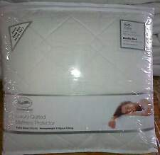 Luxury Quilted Waterproof Mattress Protector Extra Deep 33cm Fitted Skirt
