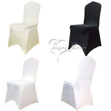 10PCS Spandex Lycra Chair Cover Stretch Wedding Supply Party Event Banquet Decor