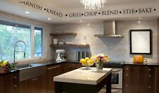 KITCHEN & COOKING WORDS & TERMS Vinyl Wall Decal/Sticker/Border/Lettering/Quote