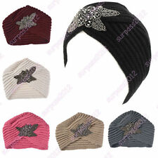 New hot popular Beanie Turban knit Crochet handmade Headband winter warm hat