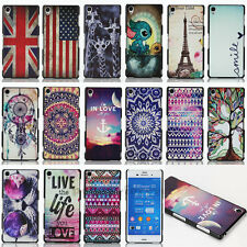 Painted Hybrid Hard Plastic Back Case Cover For Sony Xperia Z1 Z2 Z3/Z3 Compact