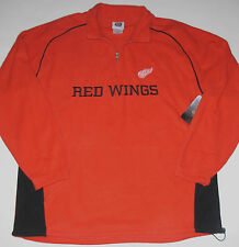 Detroit Red Wings Fleece 1/4 Zip Jacket, Size Large, New w/Tag!