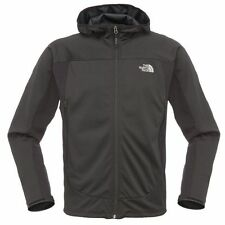The North Face Mens Cipher Hybrid Hoodie Jacket Gore windstopper coat Black NEW