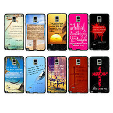 Retro John 3:16 Bible Verse On TPU Bumper Hard Case For Samsung Galaxy Note2 3 4