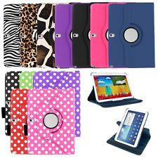 "Leather 360 Rotating Case Cover Skin Stand for Samsung Galaxy Tab PRO 10.1"" T520"