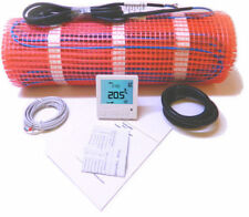 Electric Underfloor Heating Mat 150W/M² + Thermostat - All sizes in this listing